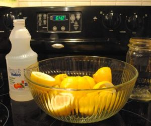 Five homemade cleaning recipes with simple ingredients