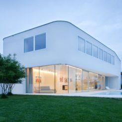 Single Family L House In Scharten, Austria Amazing Design