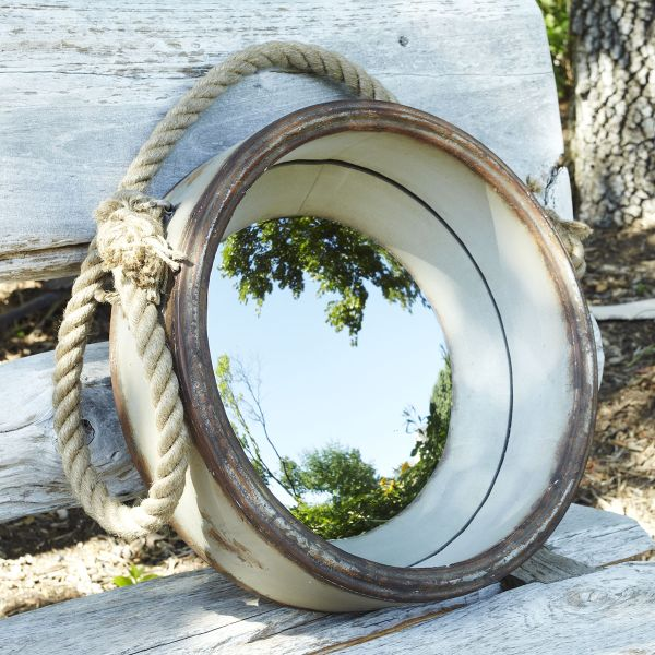 Nautical style porthole mirror for Porthole style mirror