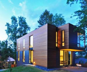 The Nexus House, a compact and unapologetically contemporary residence in Wisconsin