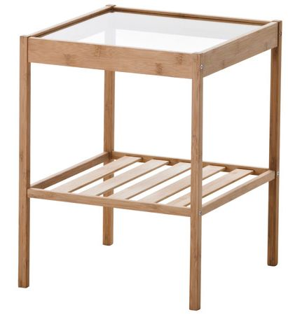 Simple Square Nightstand from IKEA