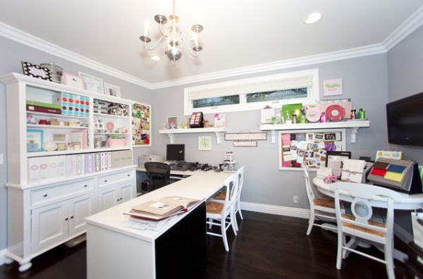 home office craft room ideas. view in gallery a craft room home office ideas