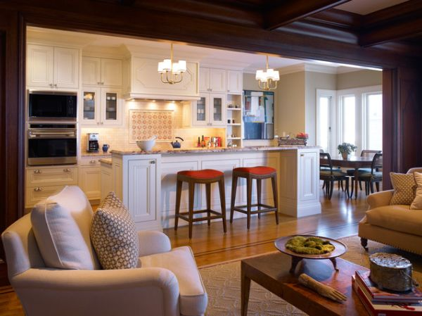 Five Beautiful Open Kitchen Interior Designs