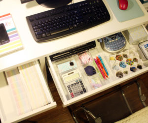 Practical and inspiring solutions for organizing your work desk