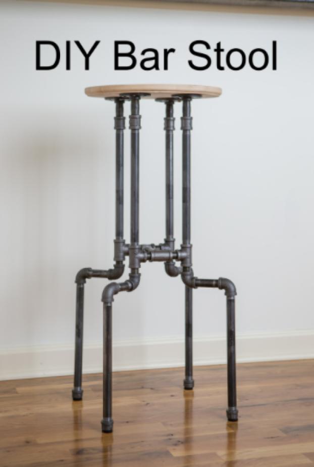 diy stool perfect pipe stool
