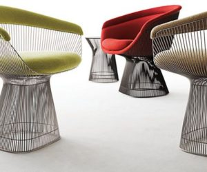 A few suggestions of interior designs featuring the stylish Platner chair