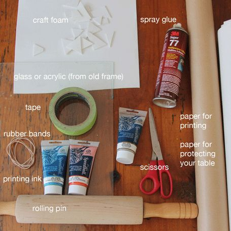 printmaking-with-rolling-pins