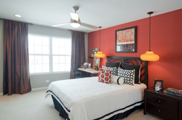 A few things you should know about colors before painting your home - Red bedroom decorating ideas ...