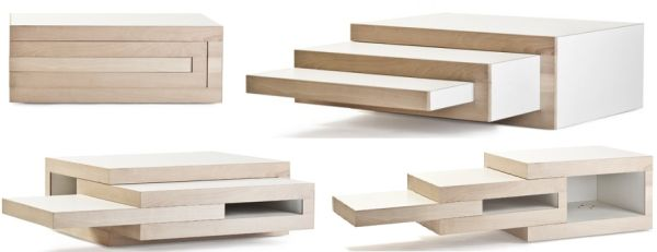 The contemporary REK coffee table