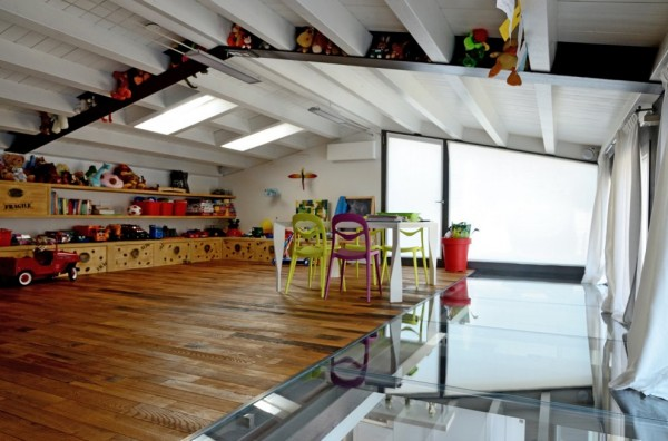 A Beautifully Restored Loft In A Former Garage Building