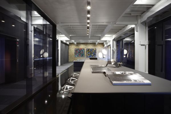 Stylish upgrade of a sydney commercial building by smart for Photography studio office design