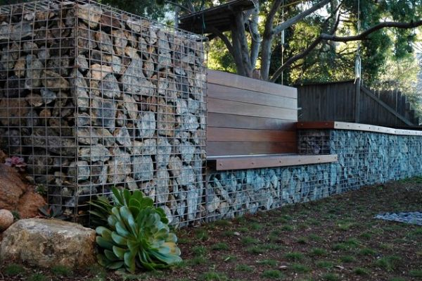 Serpentine stone walls and fences  a stylish alternative for beautiful  homes