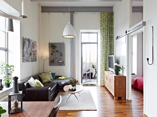 A 1914's apartment in Eriksberg with a bright and inviting interior