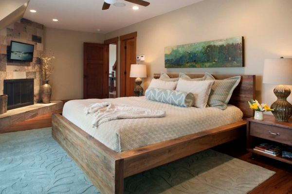 Solid Wood Beds. View In Gallery