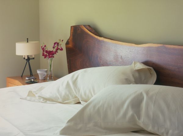 View In Gallery This Natural Wood Headboard
