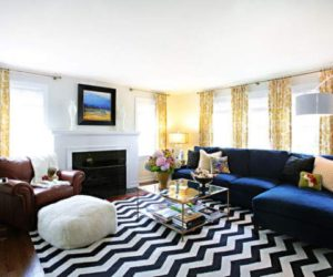 Decorating With Chevron All Around The House