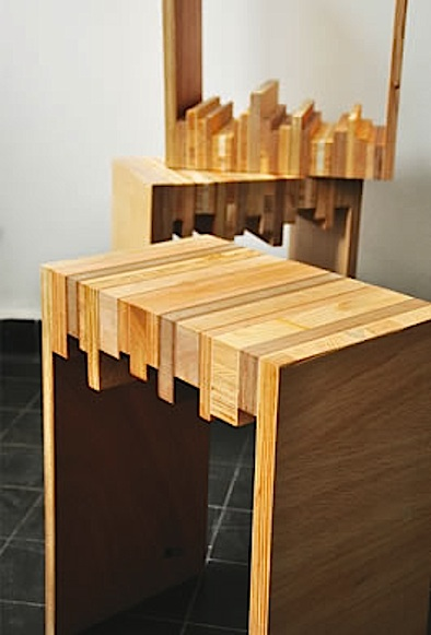 10 Creative DIY Stools : stylish diy stools made of wood scraps from www.homedit.com size 394 x 581 jpeg 56kB