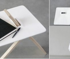 Amazing The Minimalist Tripod Side Table By Noon Studio Great Ideas