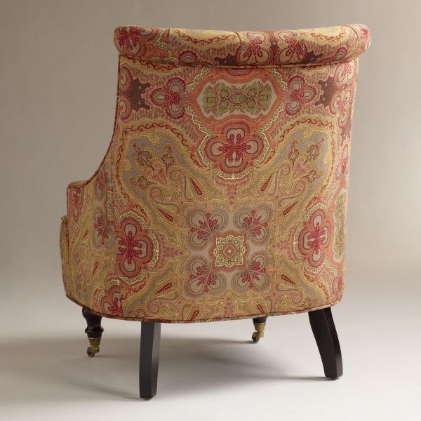 Classic Upholstered Chair With A Delicate Silhouette · View In Gallery Design