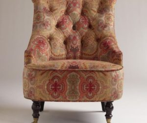 The Classic Venice Paisley Erin Chair