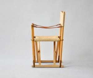 Vintage folding chair for the kids