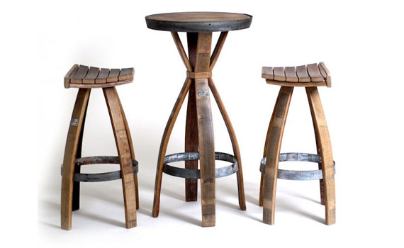 Intriguing Furniture Pieces Made Out Of Whiskey Barrels