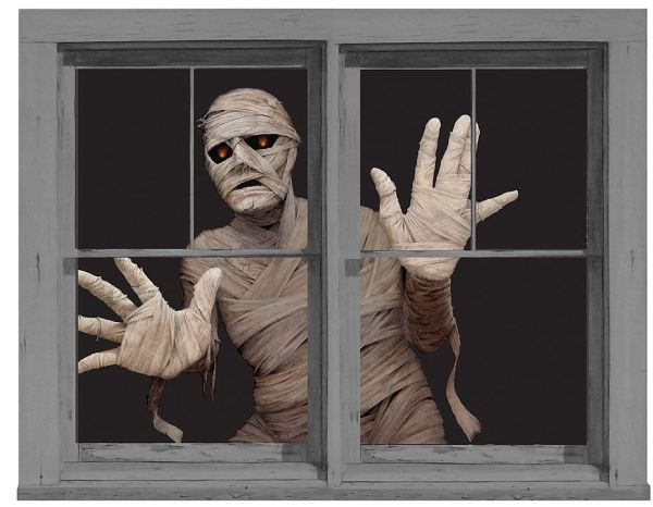 view in gallery - Window Clings Halloween