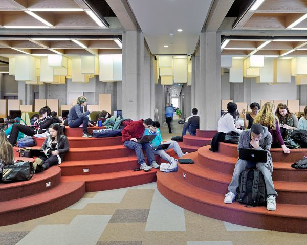 The Scott Library Now Redesigned And Turned Into A Modern
