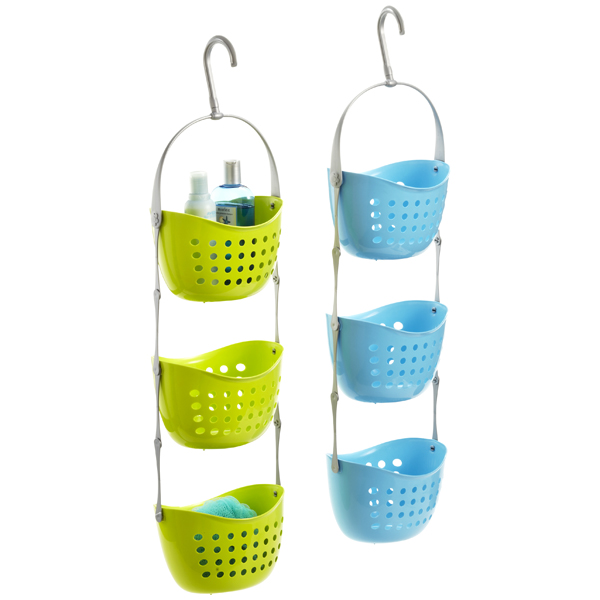 6 Untraditional shower caddies, playful designs for unique decors