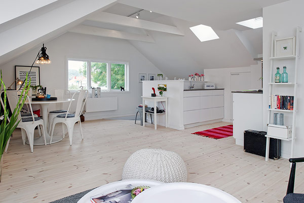 View in gallery. This attic apartment ...