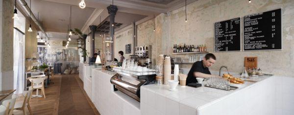 coffee shop kitchen design. View in gallery  This lovely coffee shop 12 Coffee interior designs from around the world
