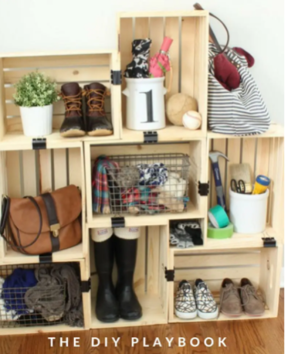 low cost house decor ideas Design Unique Storage Solutions