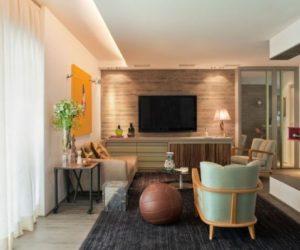 Beautiful 90 square meter apartment in São Paulo designed by Fábio Galeazzo