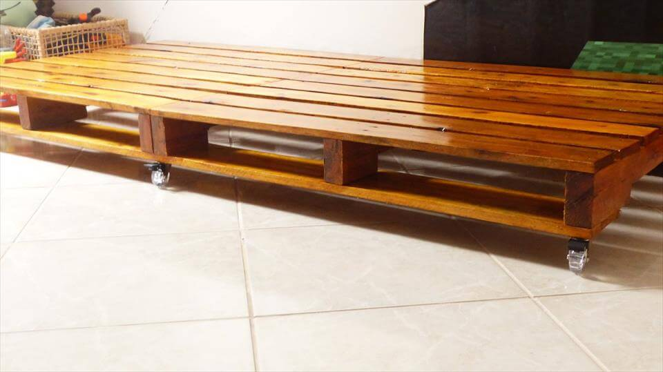 low cost house decor ideas Put Furniture On Wheels