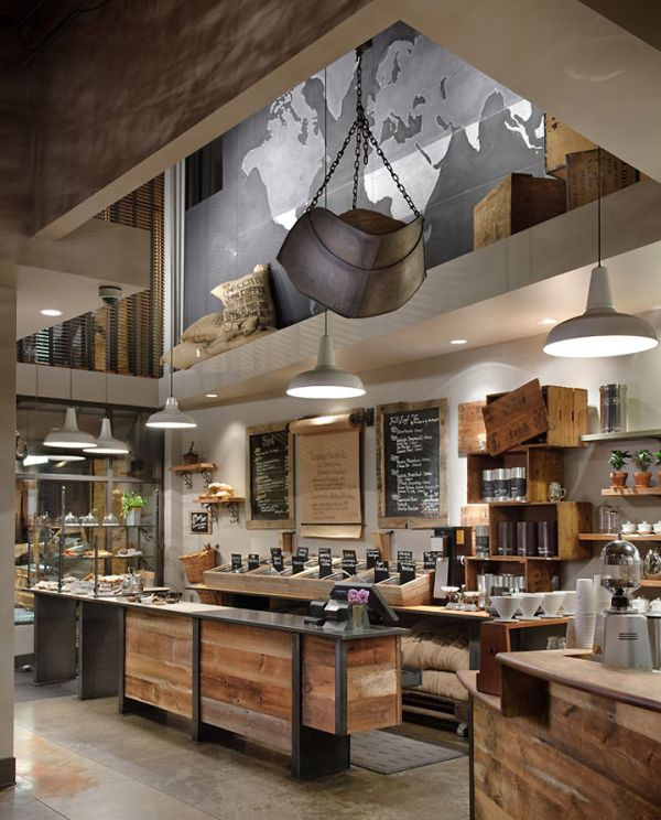12 coffee shop interior designs from around the world for Materiel culture interieur