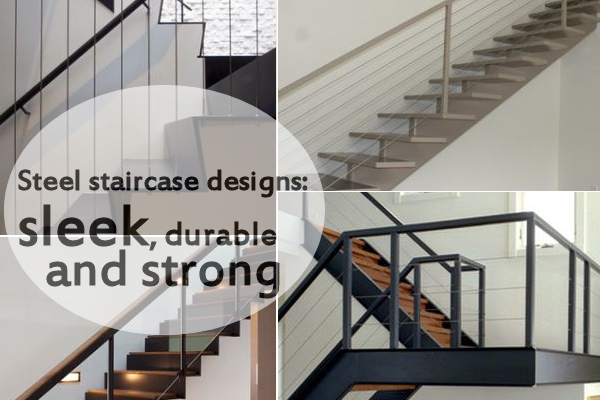 10 steel staircase designs sleek durable and strong - Home Stair Design