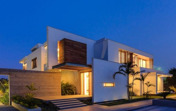 Amazing Stunning Cubic House In New Delhi, India Gallery