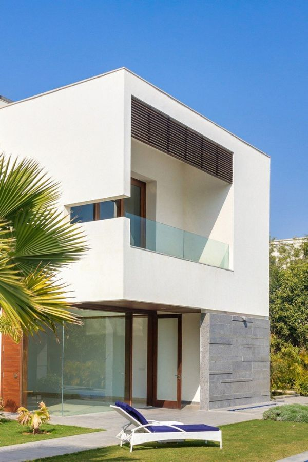 Stunning Cubic House In New Delhi India