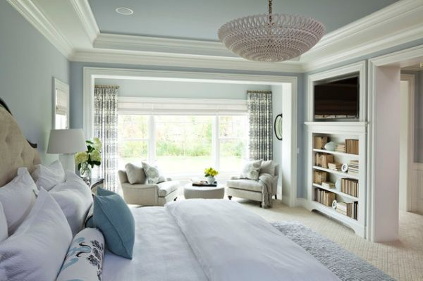 A few decorating ideas for the master bedroom for Airy bedroom designs