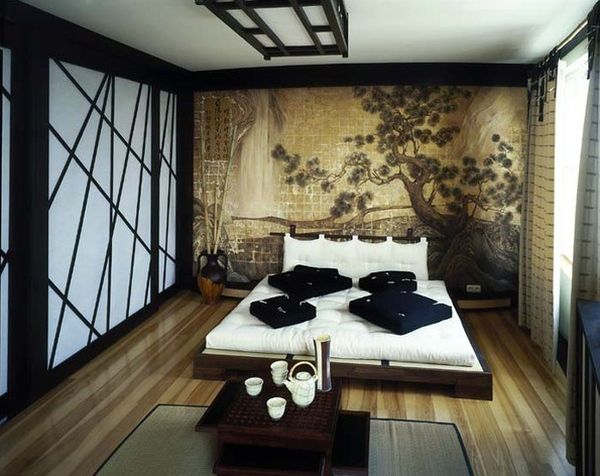 Tranquil Asian Inspired Bedroom Interiors
