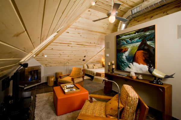 Wooden Attic Ceilings Advantages And Design Ideas