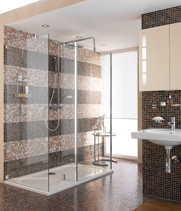 View in gallery. Save valuable space in your bathroom using shower caddies