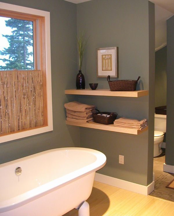 Bathroom Wall Shelving Ideas | Simple Functional And Space Saving Floating Wall Shelving Ideas