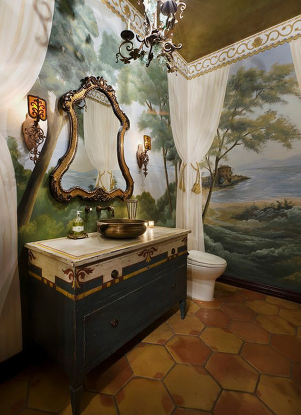 View In Gallery Antique Bathroom ...