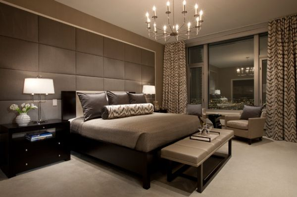 master bedroom. View in gallery Contemporary master bedroom  A few decorating ideas for the