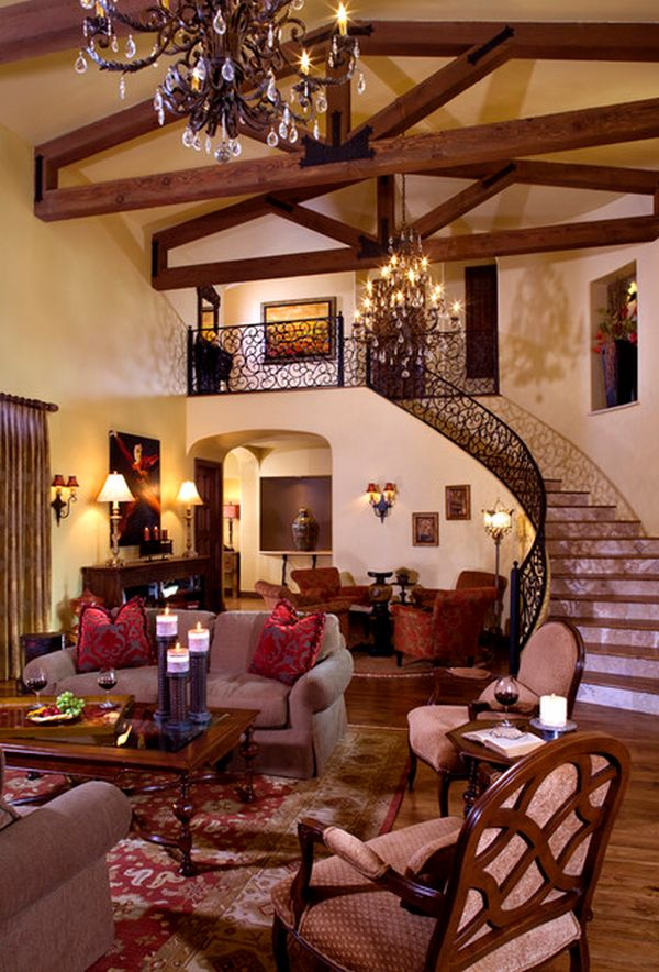 Tuscany Style Decorating Dining Room