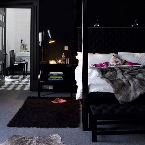 Black Bedroom black bedroom interior designs – dramatic yet elegant