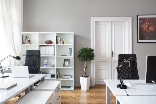 black white home office inspiration. black white home office inspiration