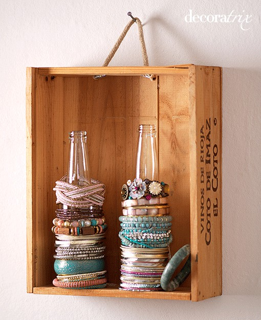 7 ways to display your jewelry part 1