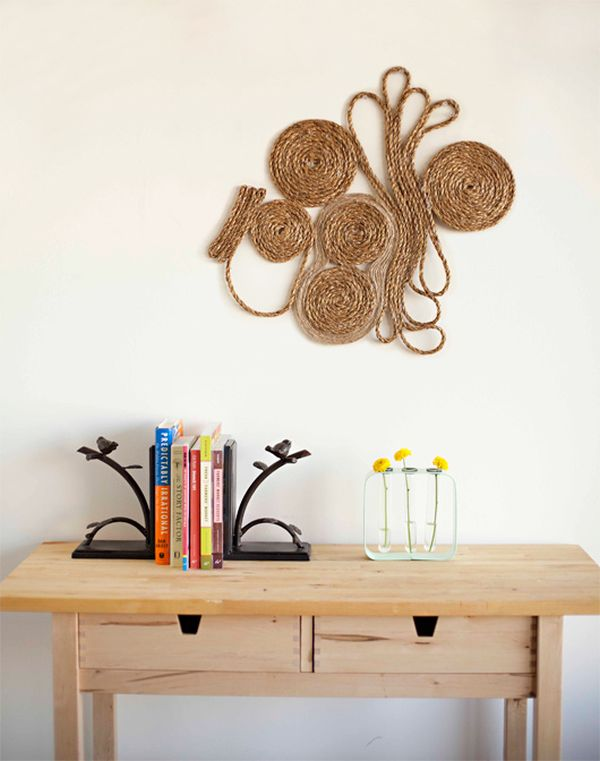 17 more diy wall art ideas for Sisal decoration
